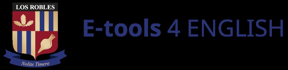 E-tools 4 ENGLISH